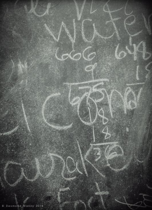 Blackboard #1 - January 2014