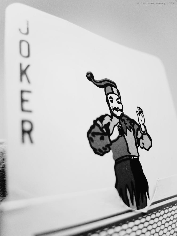 Joker in the Deck - March 2014