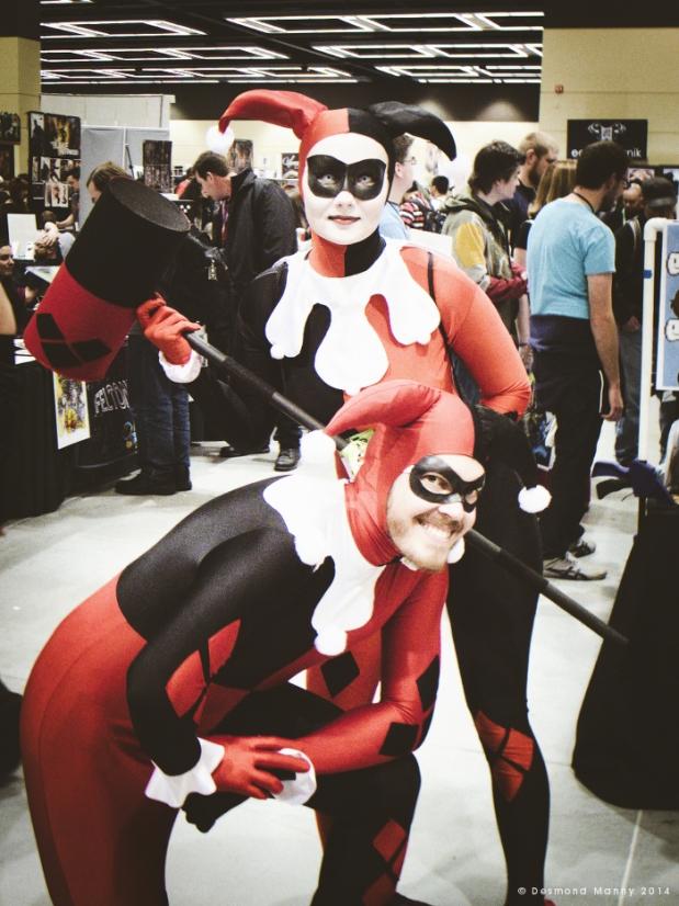Mr. & Mrs. Harley Quinn (ECCC) - March 2014