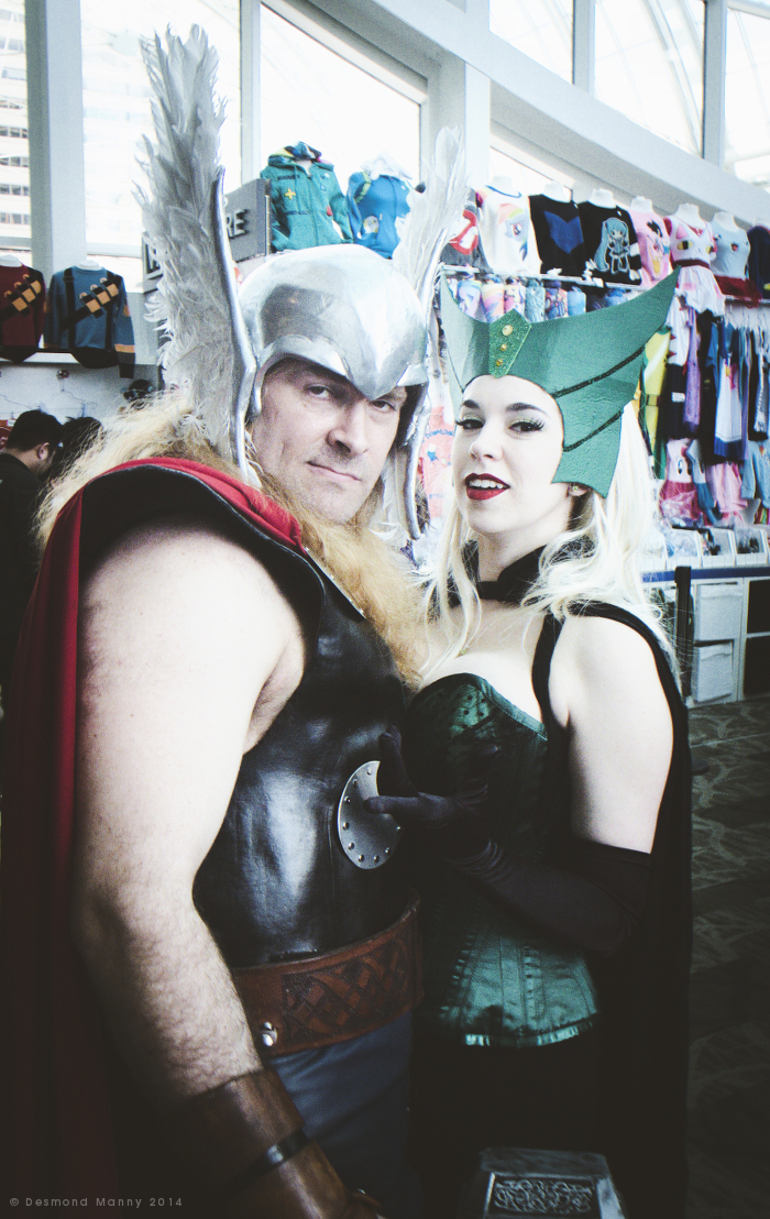 Thor & The Enchantress (ECCC) - March 2014