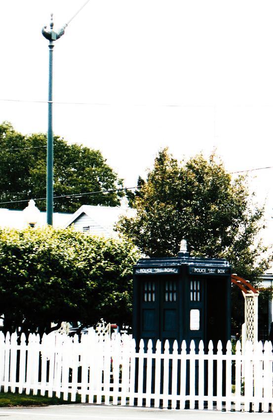 TARDIS sighting #1 - June 2014