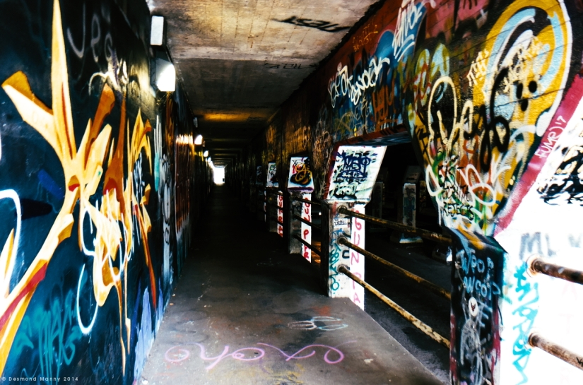 Krog Street Tunnel #1 - June 2014