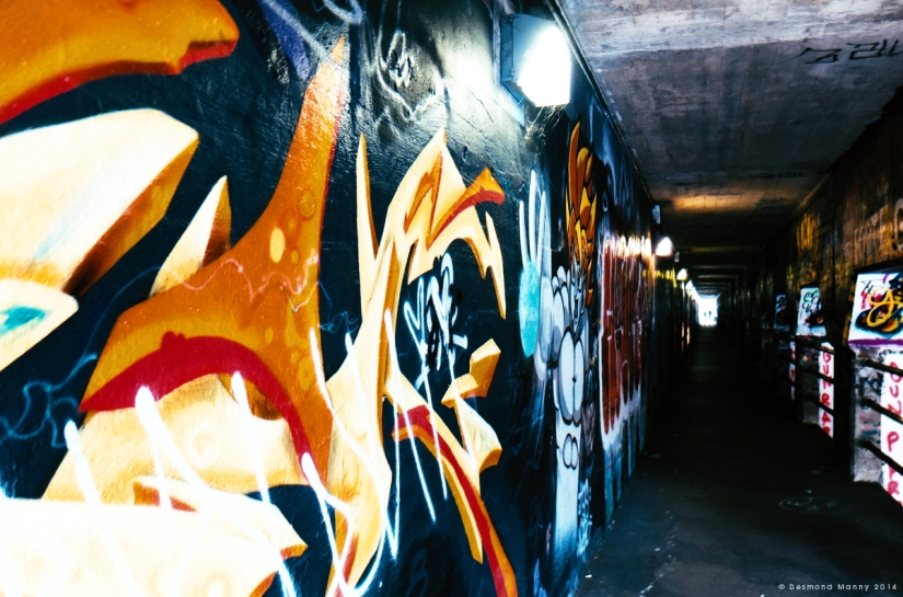 Krog Street Tunnel #2 - June 2014