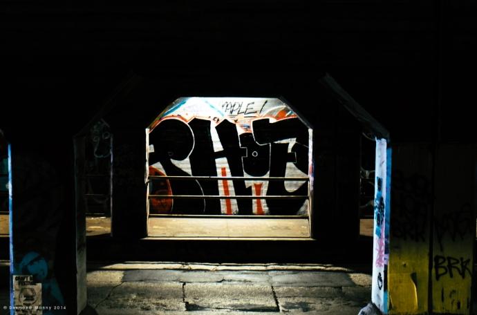 Krog Street Tunnel #9 - June 2014