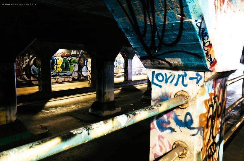 Krog Street Tunnel #7 - June 2014