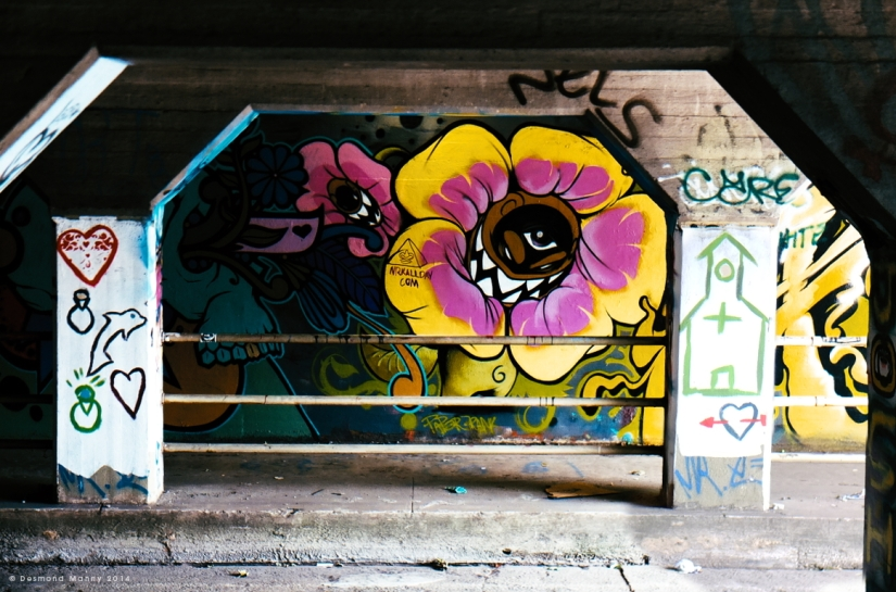 Krog Street Tunnel #10 - June 2014