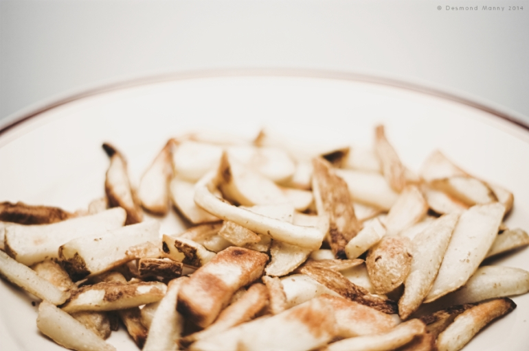 Plated French Fries - October 2014