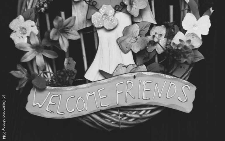Welcome Friends #1 - November 2014