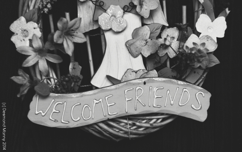 Welcome Friends #1 - November 2014