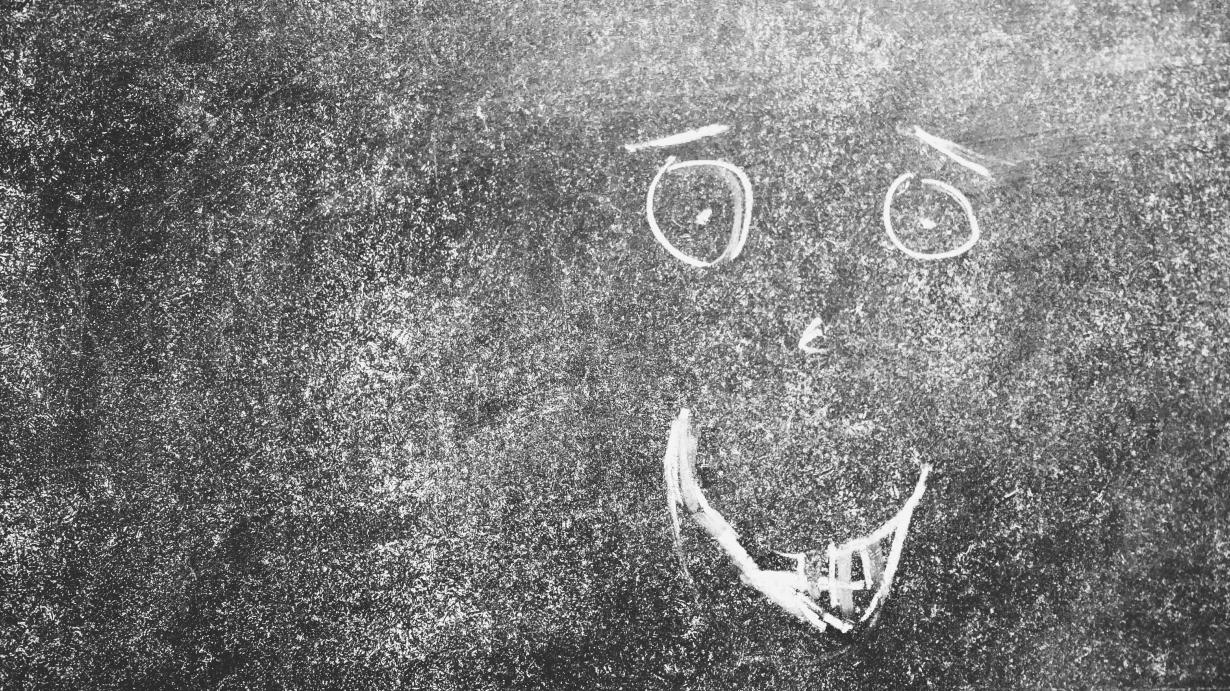 Chalkboard Grin