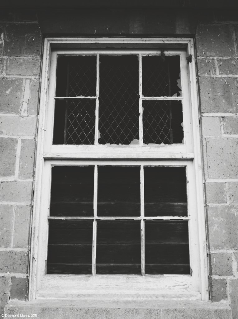 Broken Window - March 2015